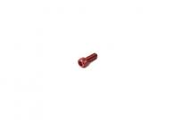 Болт алюминиевый под шестигранник M6 x 15 красный  TW