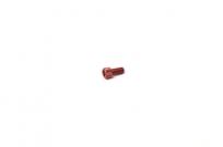 Болт алюминиевый под шестигранник M6 x 10 красный  TW