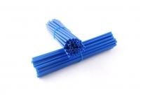 Накладки Spoke Skins на спицы для колес 21/19, 21/18 (компл. 76шт) синие