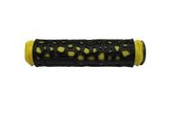 Грипсы 22,2х130мм, резина, жёлт./чёр.