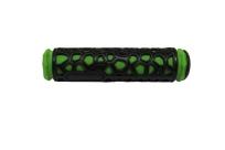 Грипсы 22,2х130мм, резина, зел./чёр.