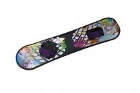 Сноуборд пластиковый с облегченным креплениями