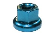 Гайка M-FXS для оси Fix Gear, закалённая сталь, M10X1.0, L:14,6мм, синяя