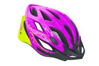 Шлем DIVA фиолетовый/салатовый, M/L