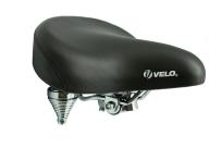VELO Седло VL-8030 чёр. с пружинами, без замка