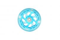 Колесо для самоката, ПУ, D:120x24мм, с подш. ABEC-7