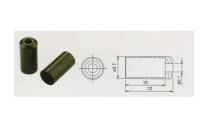 Наконечник оболочки троса тормоза BOT115-3E 5мм, латунь, 200шт