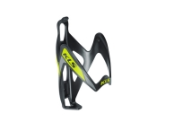 KLS Флягодержатель KLS PATRIOT, поликарбонат, вес 33г, чёрный/салатовый