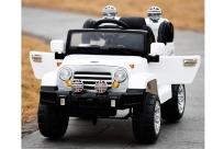 Детский электромобиль Kids Cars J245, открывающиеся двери, резиновые колеса