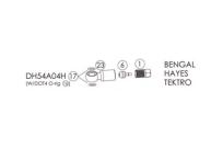 BENGAL Фиттинги и переходники для гидролиний BENGAL, HAYES в блистере.