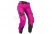 Брюки для мотокросса женские FLY RACING WOMEN'S LITE (2019) розовый/черный
