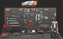 Доска пластиковая SUPER B TB-PB08, 8 элем.