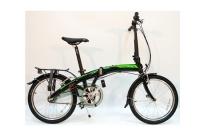 """DAHON Curve i3 Obsidian, велосипед складной, колёса 20"""", крылья, багажник, насос, 3 скор."""