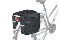 KLS Сумка на багажник ADVENTURE 20, объем: 20л, цвет черный