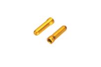 BOT117-CO Заглушка троса до 1,8мм, золотая, 1 шт. поштучно