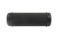 Грипсы 22,2x130мм, резина, чёр.