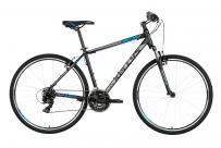 """Велосипед 20"""" AVENGER C200, черный/красный"""