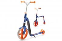 Самокат-беговел трансформер Scoot&Ride Highway Gangster 2 в 1 (бело-голубой-оранжевый)