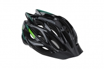 Шлем KLS Dynamic чёрный-зелёный S/M