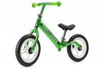 Беговел из чистого алюминия Small Rider Foot Racer Light (зеленый металлик)