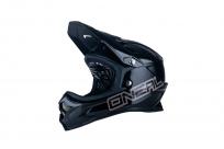 Велошлем O-Neal Backflip Fidlock DH RL2 Solid / Black L (59-60см), черный, 0500M-004