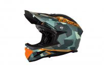 Шлем O-Neal Warp Fidlock Edgy Camo / Grey S (55-56см), серый, 0615C-202