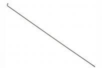 Спицы S14, нерж. сталь, 14GX252мм, 1 шт., чёрные поштучно