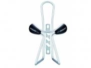 Флягодержатель MASSLOAD cl-037c. дуги d:5 мм. вес: 53г. цвет: серебристый