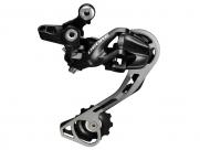 Shimano переключатель задний rd-m610-sgs deore, 10 скоростей, низкий профиль shadow, чёрный