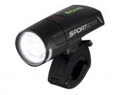 Sigma sportster 2 режима, 30 люкс, освещаемая дистанция 50м, с акк., зарядка через usb, чёрный