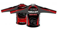 Куртка kellys pro race isowind. материал: водонепроницаемый материал isowind/дышащий материал superroubaix. цвет: черный, красный. размер: s.