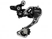 Shimano переключатель задний rd-m615-sgs deore, 10 скоростей, top-normal, низкий профиль shadow+, чёрный, без уп.