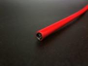 Рубашка троса тормоза красная 5мм х 30м в цветной коробке