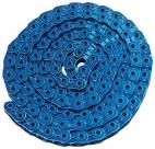 """Ybn цепь mk926, 1 ск., 1/2""""x1/8""""x102, халфлинковая, синяя, в торг.уп., перфорированная, высокопрочные полые хромированные пины, высокая прочность на разрыв"""