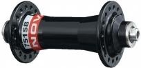 Novatec втулка передняя 751sb, мтб/кросс, 36н, ось м9х100х108мм, 2 промподшипника, с эксцентриком, 141г.,чёрная.