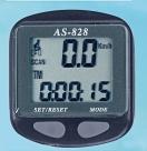 Велокомпьютер av-820 проводной. 11 функций: скорость /режим сканирования /время /пройденное расстояние/одометр /максимальная скорость /средняя скорость /часы /каденс /счётчик калорий /секундомер. цвет: чёрный