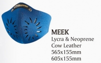 Открытая маска для велоспорта trigram meek. размер: 565x155мм. материал: лайкра/неопрен/кожа. цвет: синий