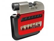 Super b 9895 карманный набор инструментов 9 в 1: шестигранники 3/4/5/6/8мм, выжимка цепи, т25, отвертки +/-