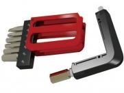 Super b 9885 карманный набор инструментов 8 в 1: шестигранники 3/4/5/6/8мм, т25, отвертки +/-