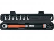Super b (premium) тв-tw30 ключ динамометрический: шестигранники 4/5/6/8/10мм+ тorx 25/30/40, торг.упаковка