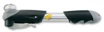 """Giyo насос gp-23d двухходовой """"делюкс"""", алюминиевый, универсальная головка с крышечкой от пыли, комфортабельная рукоятка."""