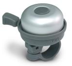 Звонок yws-611a d:40мм алюминиевый купол, пластиковая база, серебристый с серым