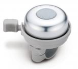 Звонок yws-612a, d:45мм. материал: алюминиевый купол, пластиковая база. цвет: серебристый/серый.