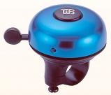 Звонок yws-319a, d:55мм. материал: алюминиевый купол, пластиковая база. цвет: синий/чёрный.