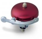 Звонок yws-408a, d:57м. материал: алюминий. цвет: красный/серебристый.