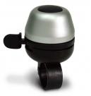 Звонок yws-672 d:42мм, алюминиевый купол, пластиковая база, серебристый с чёрным