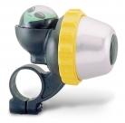 Звонок поворотный yws-671a, d:42мм. материал: алюминиевый купол, пластиковая база. дизайн: инопланетянин.
