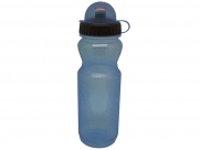 Фляга cwb700e. объем: 700л. с широким горлышком. с крышкой. цвет: прозрачный голубой