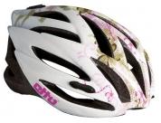 Шлем etto tornado. цвет: белый/розовый. размер: l/xl (57-60см)