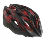 Шлем детский etto shark. цвет: чёрный. размер: 50-57см